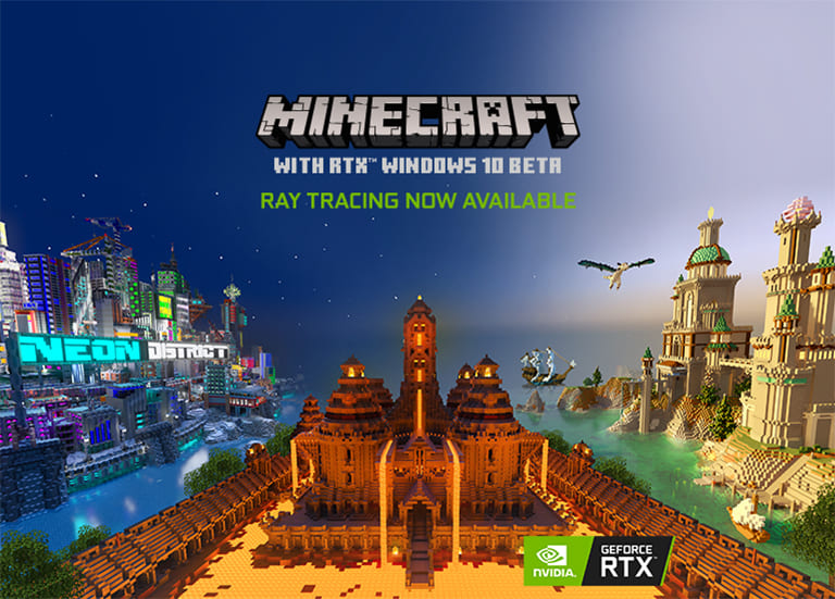 MINECRAFT WITH RTX WINDOWS 10 BETA