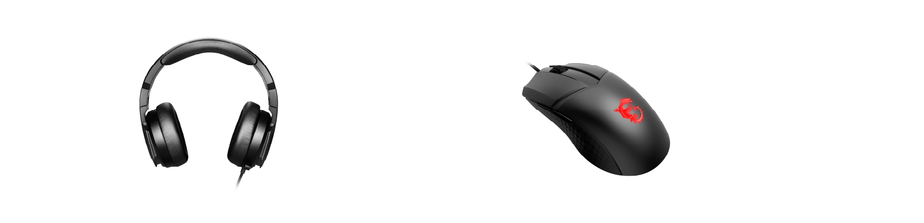 MSI Mouse + Headset