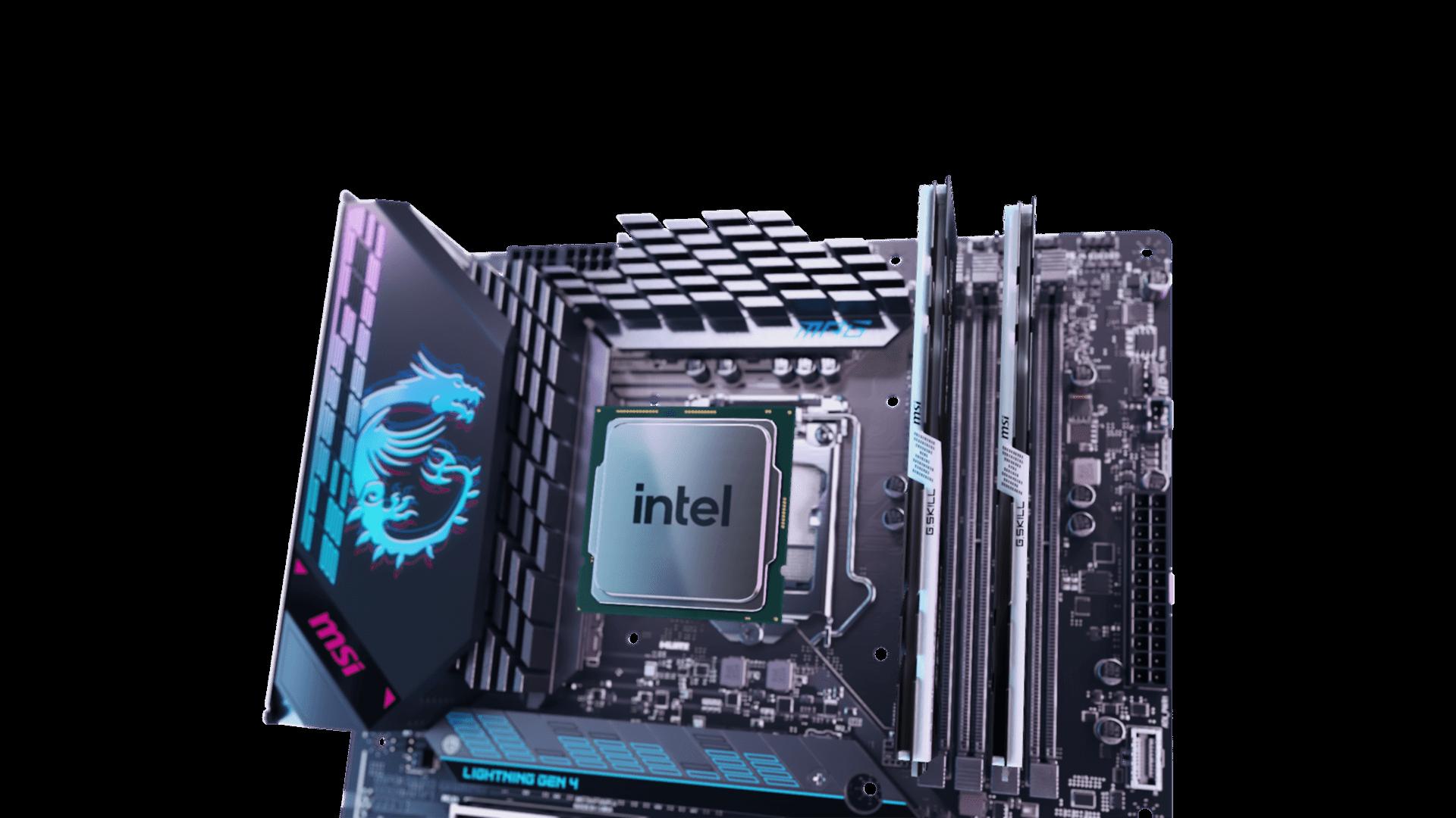 MSI MPG MAVERIK CPU & MEMORY IMG