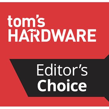 Tomshardware- Editors' Choice award