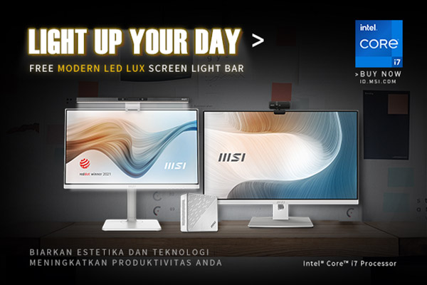 MSI light up your day