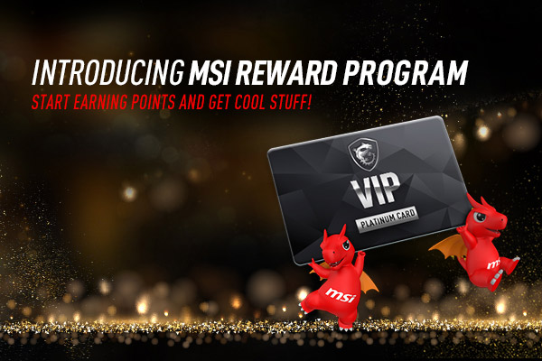 MSI rewards program