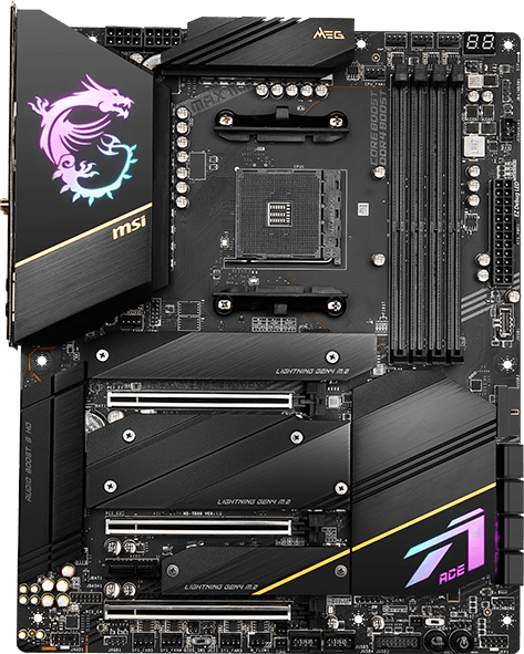 MSI X570S Motherboard MEG X570S ACE MAX
