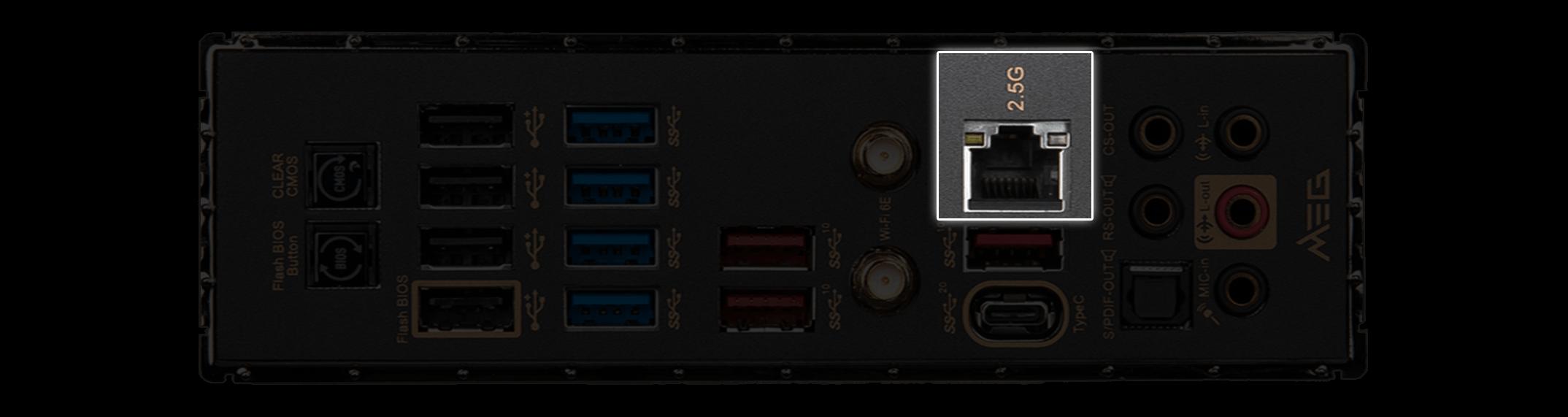 MSI X570S Motherboard Faster 2.5G LAN