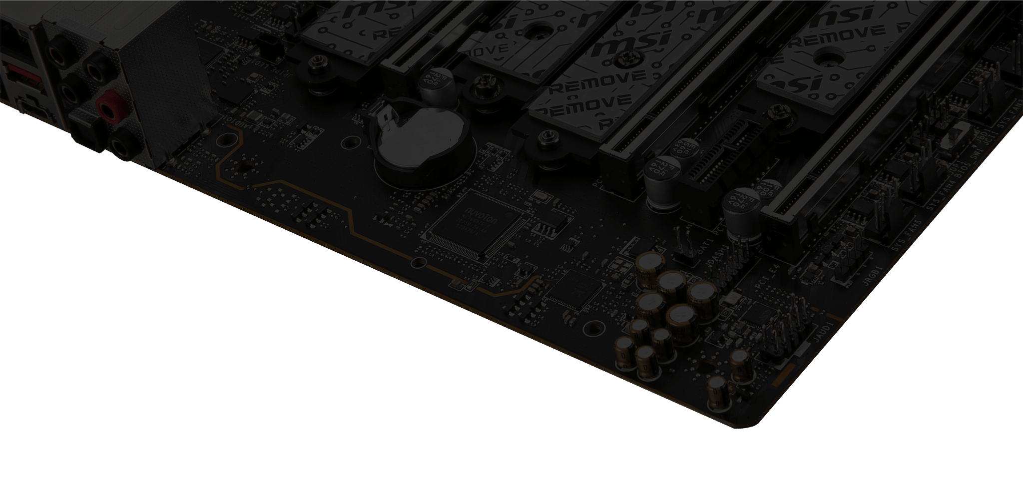 MSI X570S Motherboard More Forceful Audio Boost5 HD-1