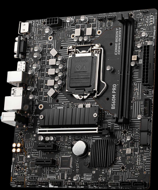 MSI B560 500 Series Motherboard B560M PRO