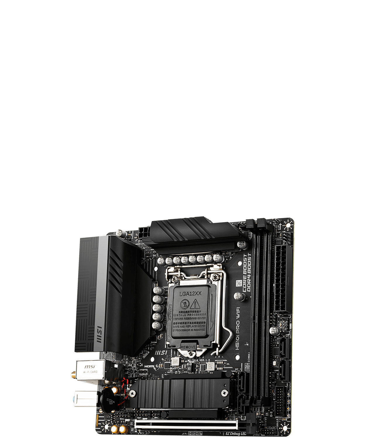 MSI H510 500 Series Motherboard H510I PRO WIFI