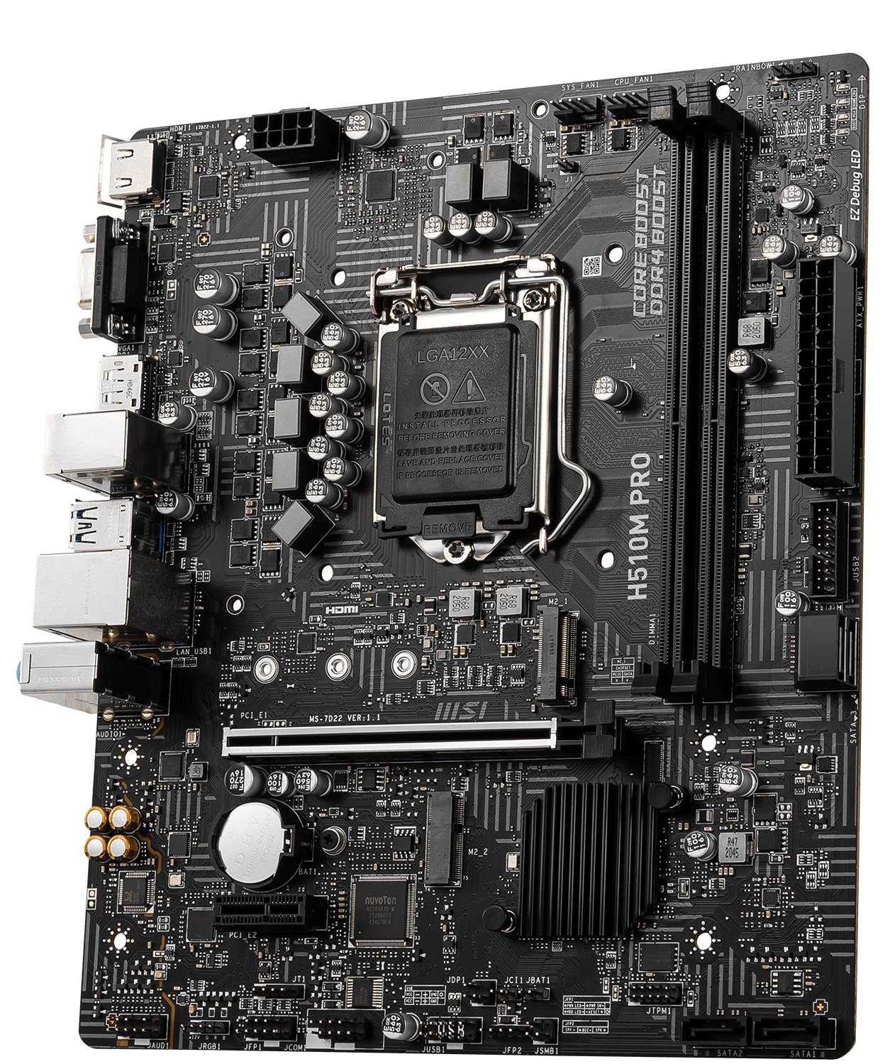 MSI H510 500 Series Motherboard H510M PRO