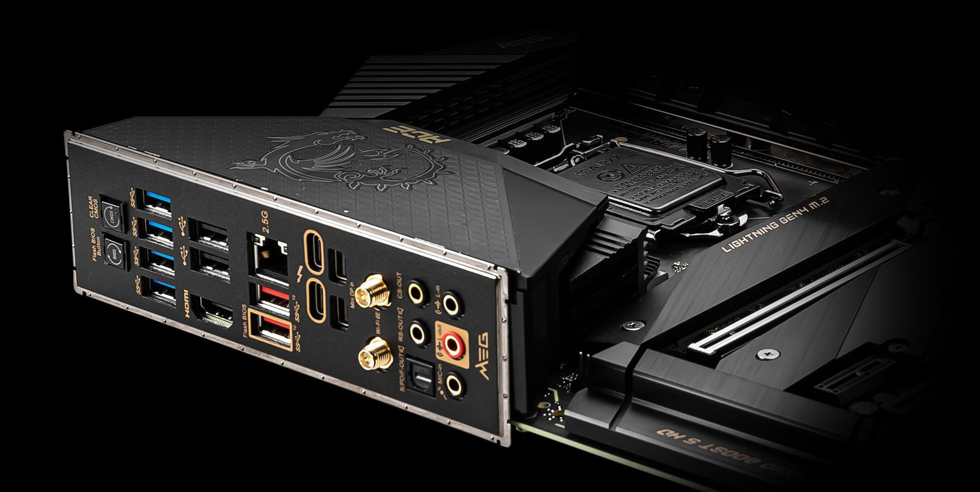 MSI Z590 500 Series Motherboard Features Premium Connectivity