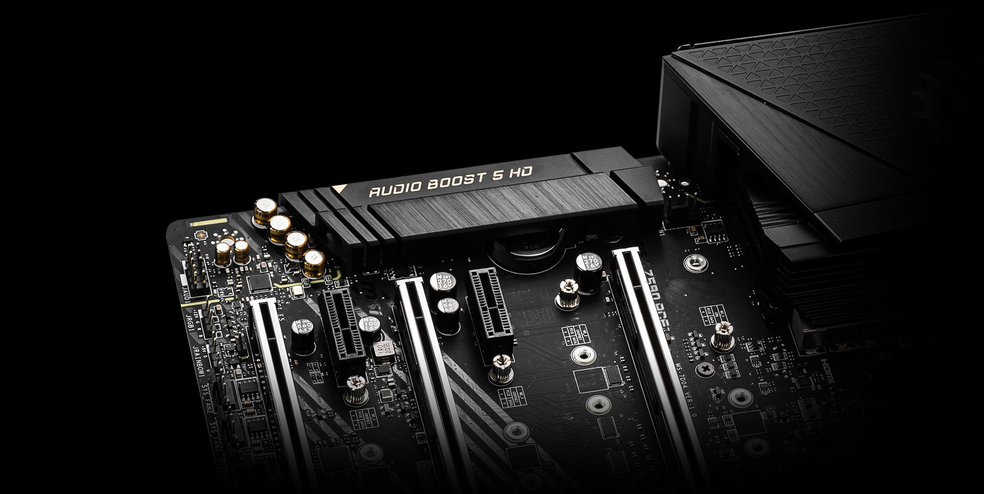 MSI Z590 500 Series Motherboard Features Sound Force