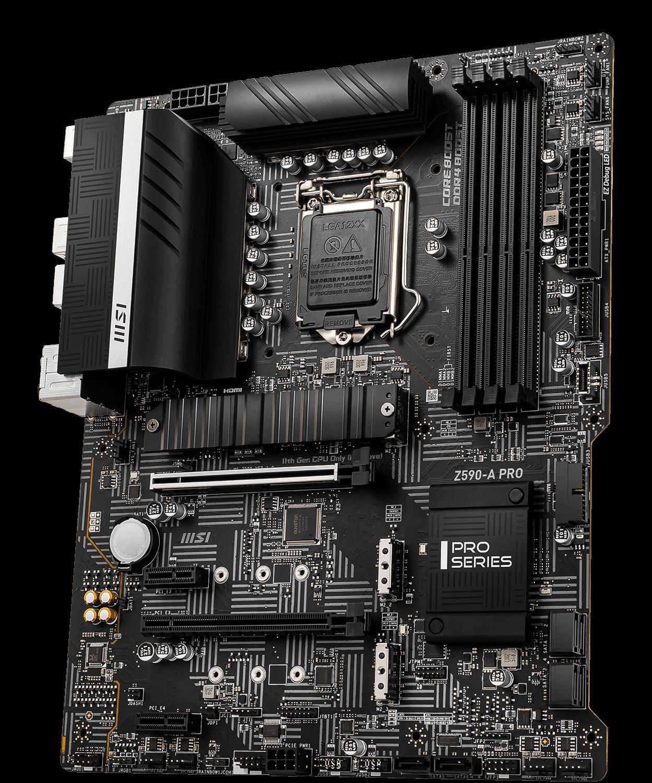 MSI Z590 500 Series Motherboard Z590-A PRO