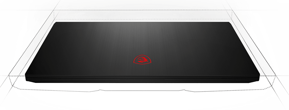 msi thin bezel laptop