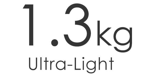 1.3kg ultra light