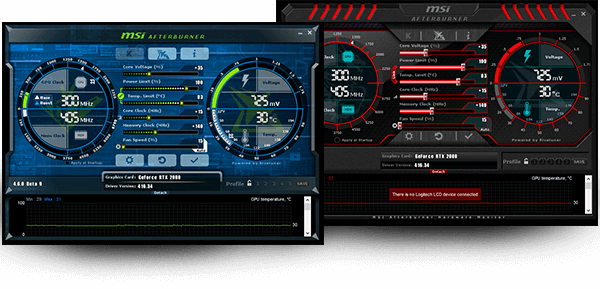 MSI AfterBurner Overlay IN-Game Msi-mod
