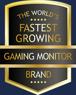 THE-WORLD'S-FASTEST-GROWING-GAMING-MONITOR-BRAND