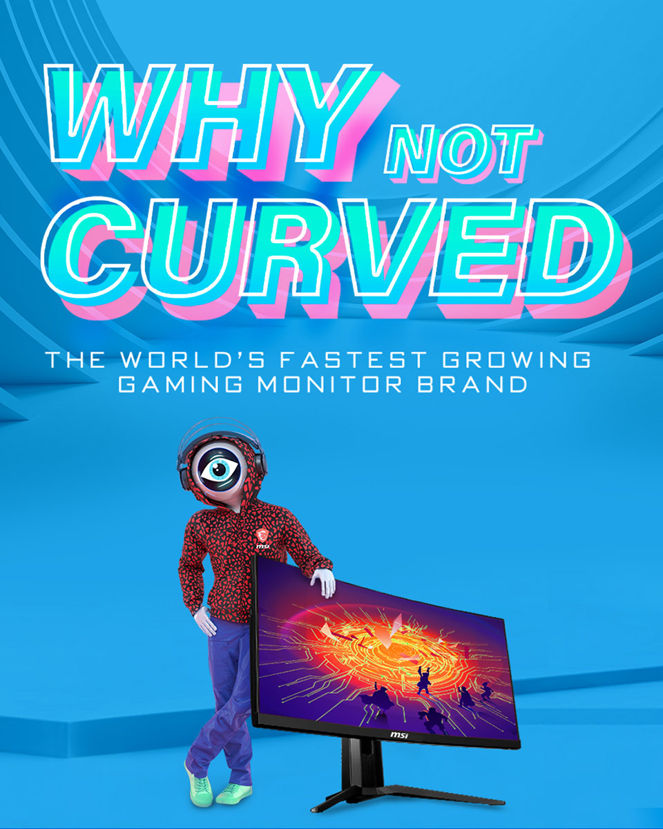 Why Not Curved Gaming Monitor?