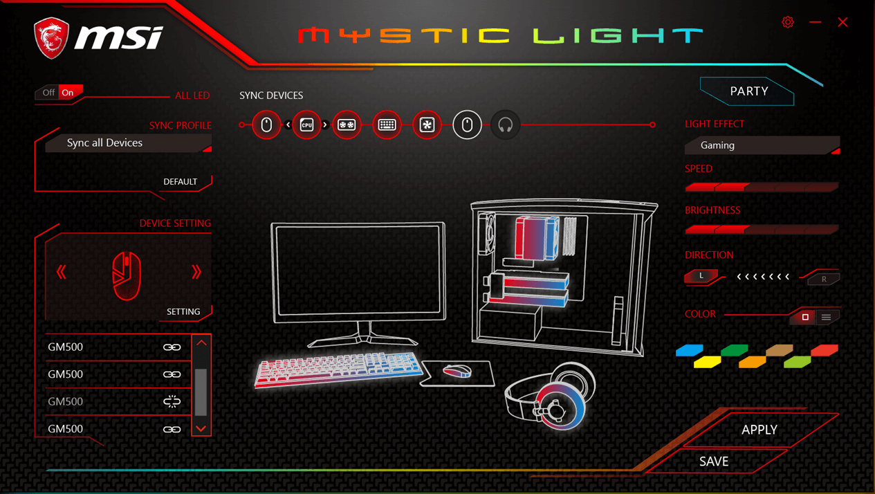 Carte M 232 Re Gaming Msi Avec 233 Clairage Led Rgb Modding Pc