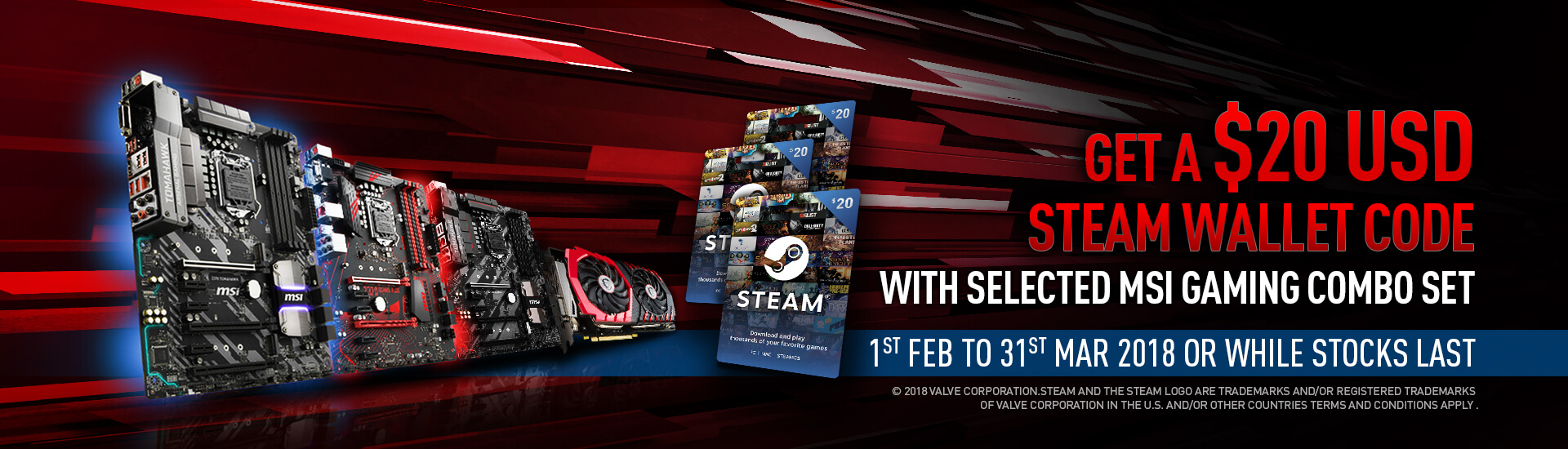 ZA - MB ROW+ AU steam wallet code bundle promotion | MSI Global