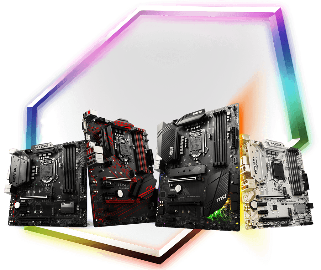 Placas madre MSI H370 y B360