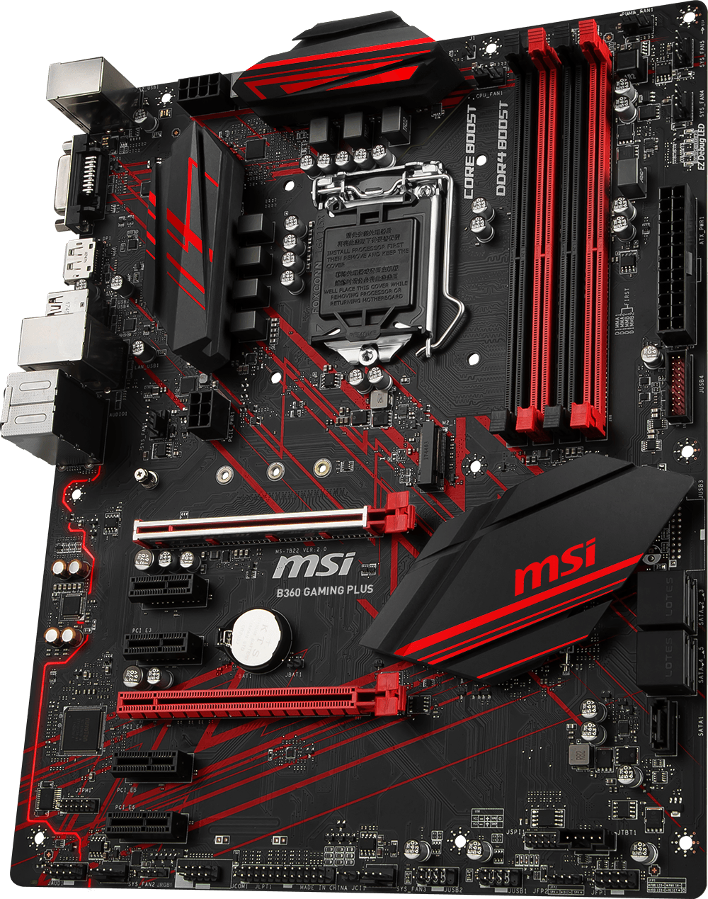 MSI B360 GAMING PLUS 3D