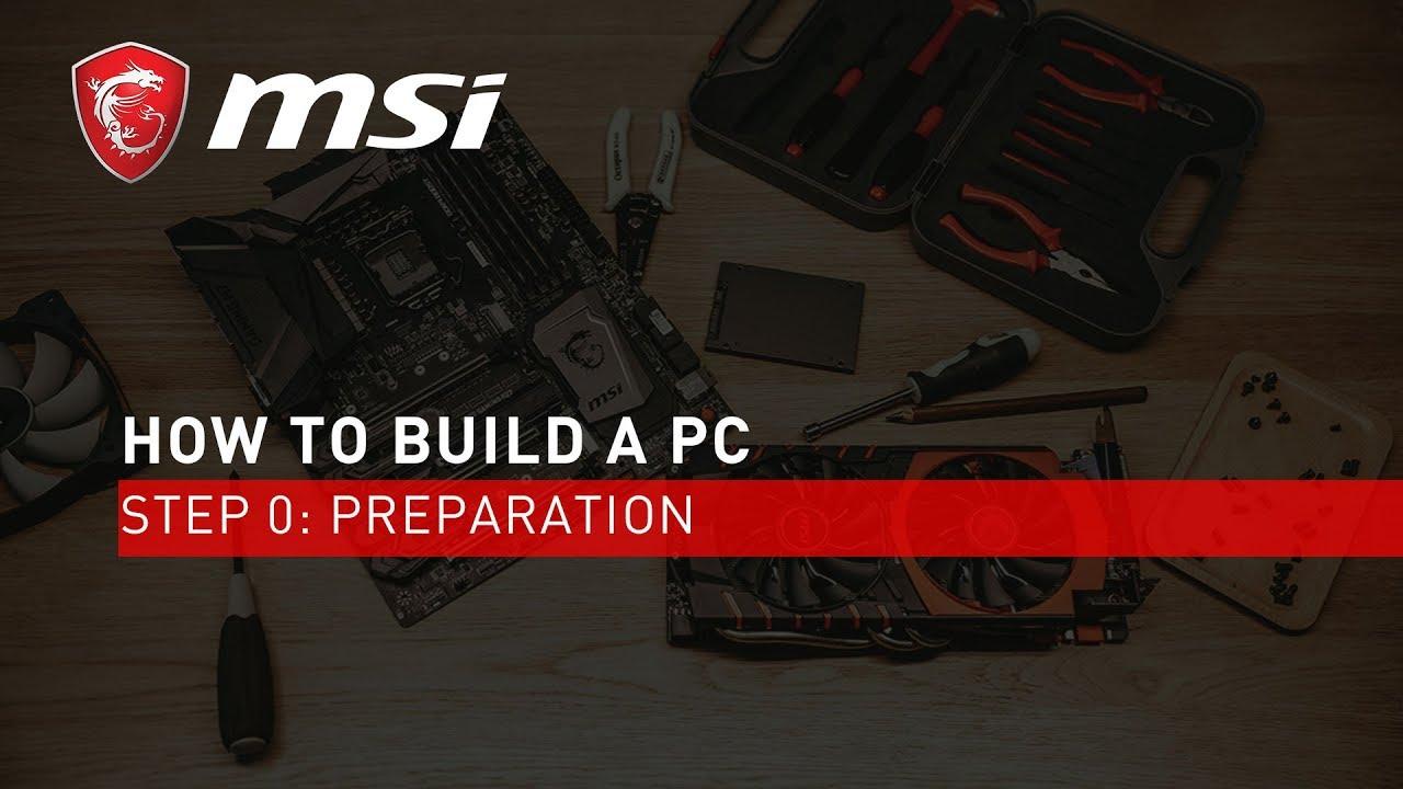 第0步: 組裝前準備工作