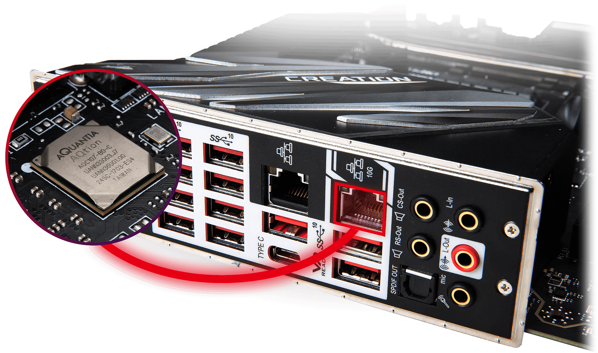 MSI LIGHTNING 10g SUPER LAN