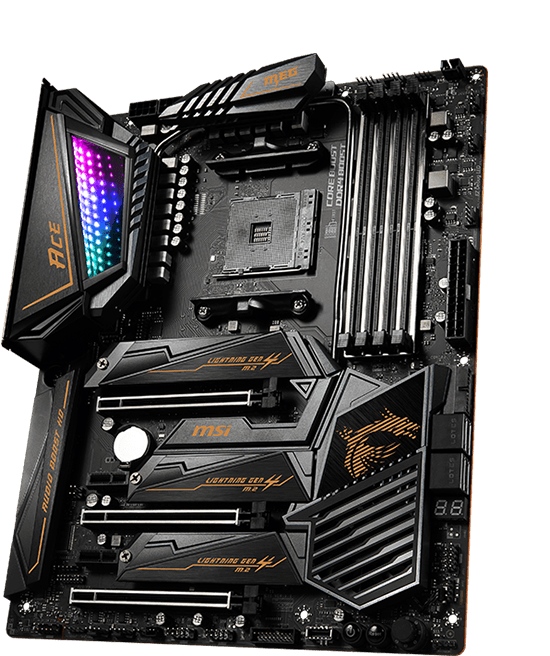 SCHEDA MADRE MSI MEG X570 ACE OVERVIEW