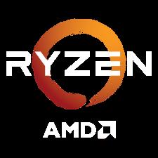 AMD X570 RYZEN LOGO