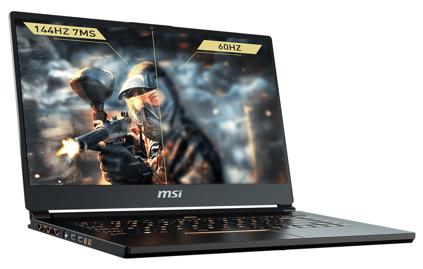 MSI GS65 Stealth Thin – World's First 144Hz Thin Bezel Gaming Laptop