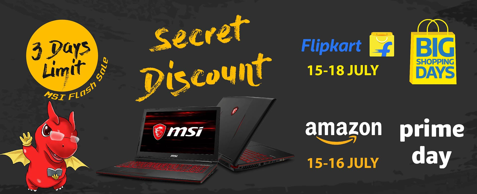 sale with secret disount in 3 days