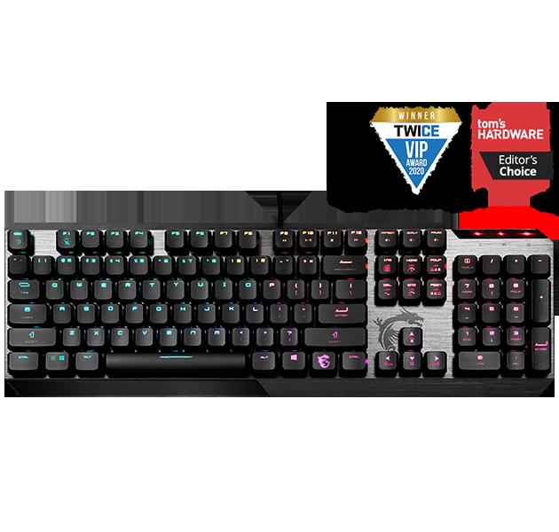 Vigor GK50 Low Profile Gaming Keyboard