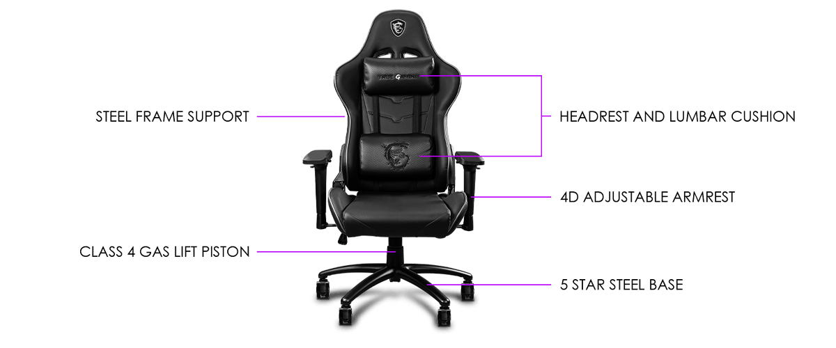 msi ch120 I gaming chair