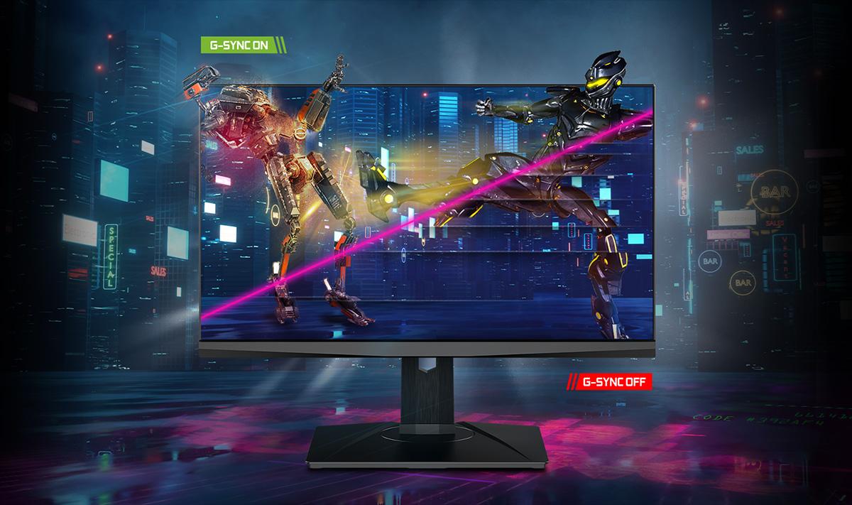 MSI NXG253R nvidia