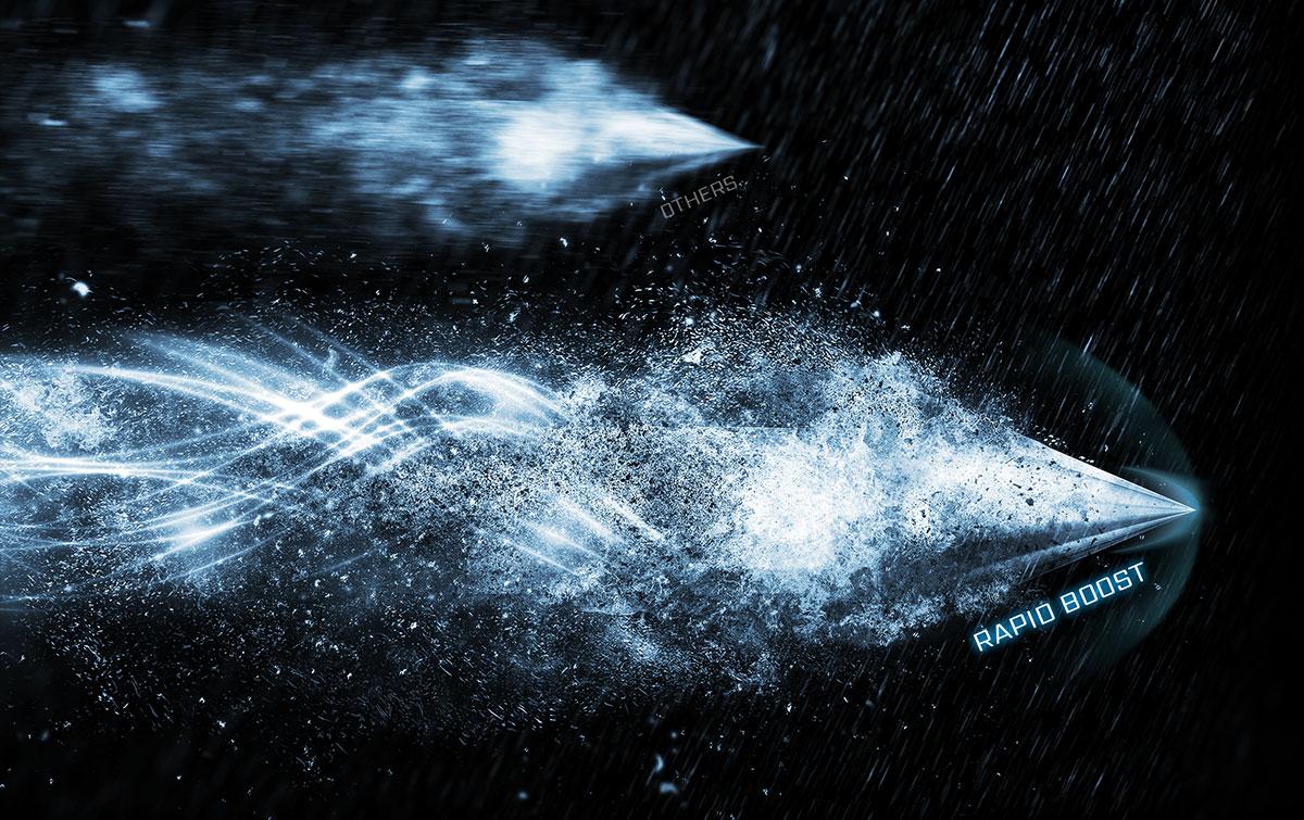 msi optix ARTYMIS 343CQR Rapid boost