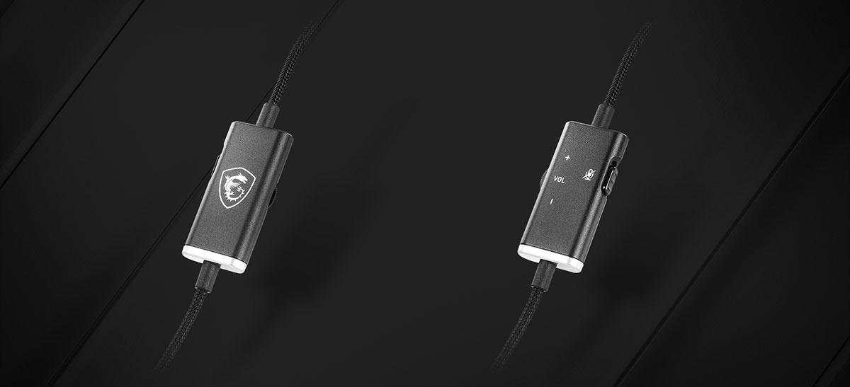 MSI GH20 heaset speaker volume controller