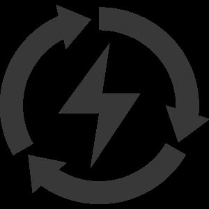 flashing icon