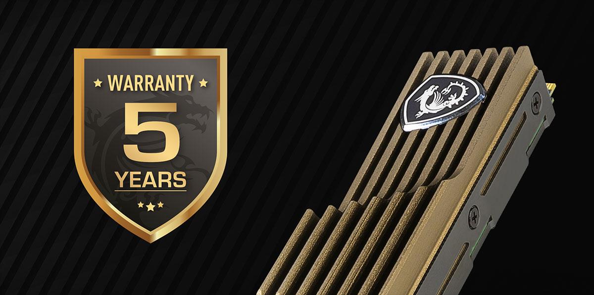warranty 480hs 5 years