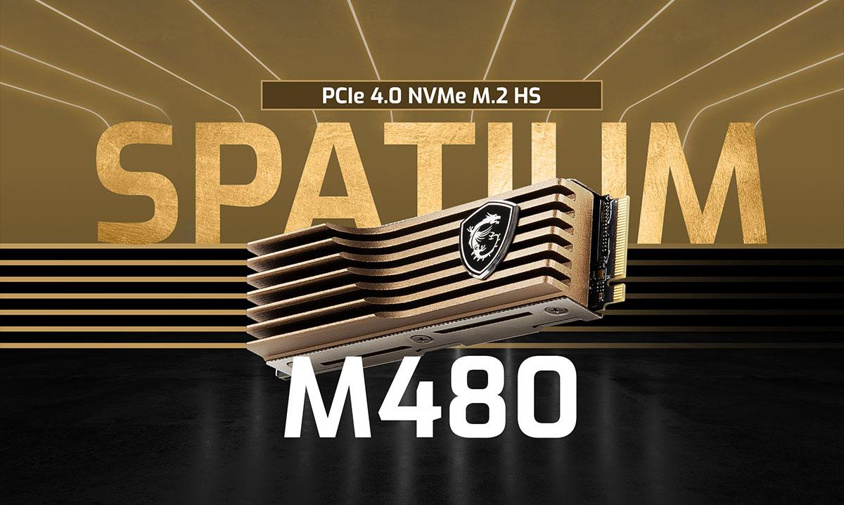 msi spatium m480HS banner