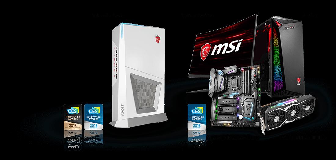 2018 CES Innovation Award Winning Gaming Gear | MSI