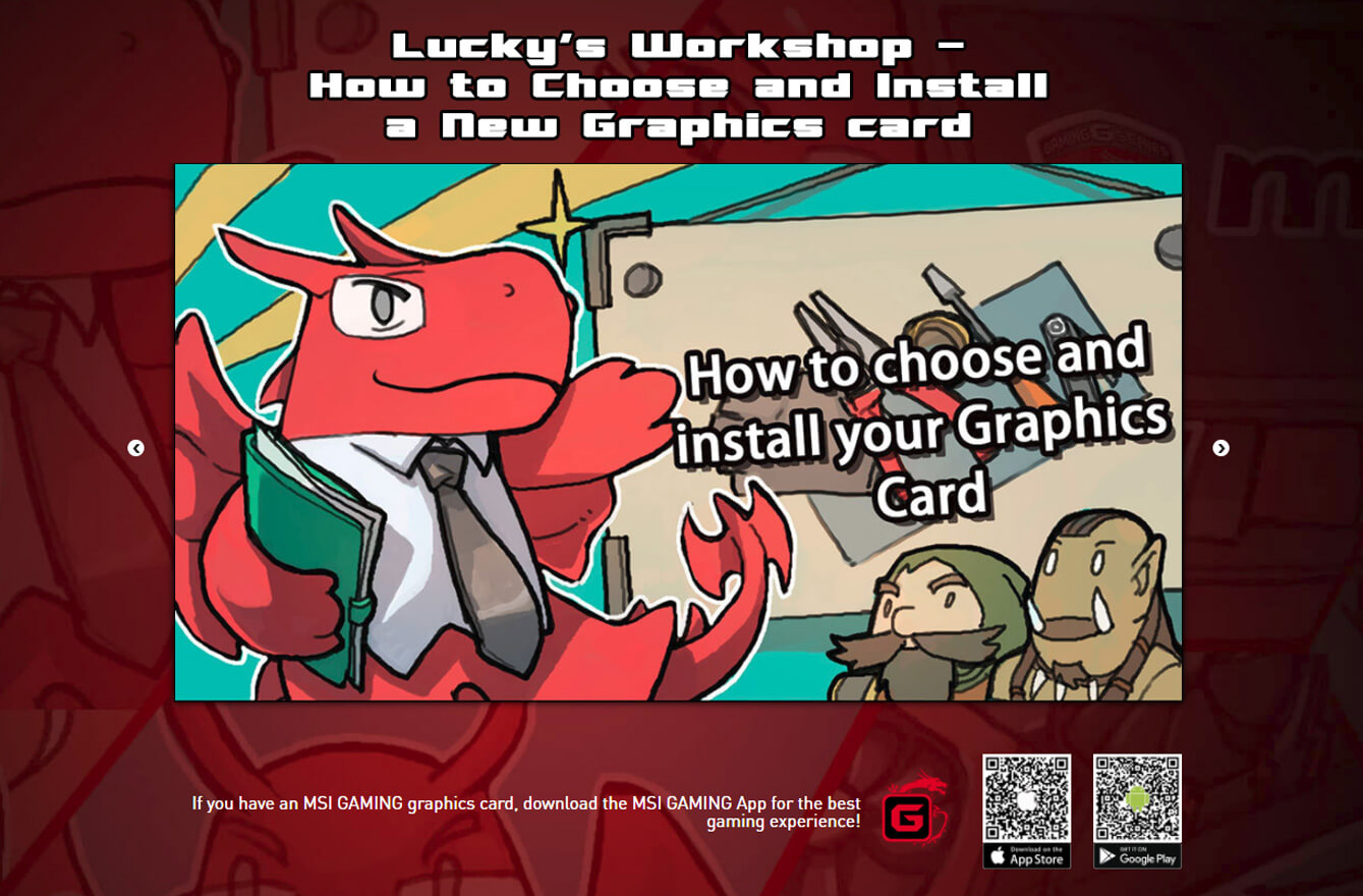 How to install your graphics card?