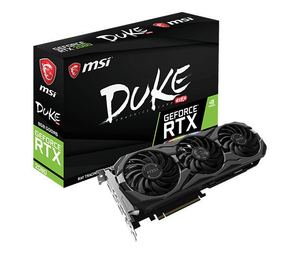 MSI GeForce® RTX 2080 DUKE 8G OC