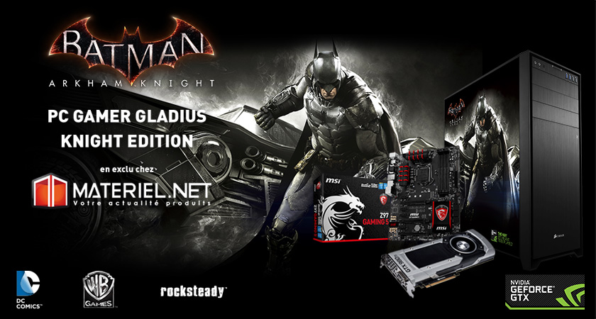 PC GAMER Gladius Knight Edition
