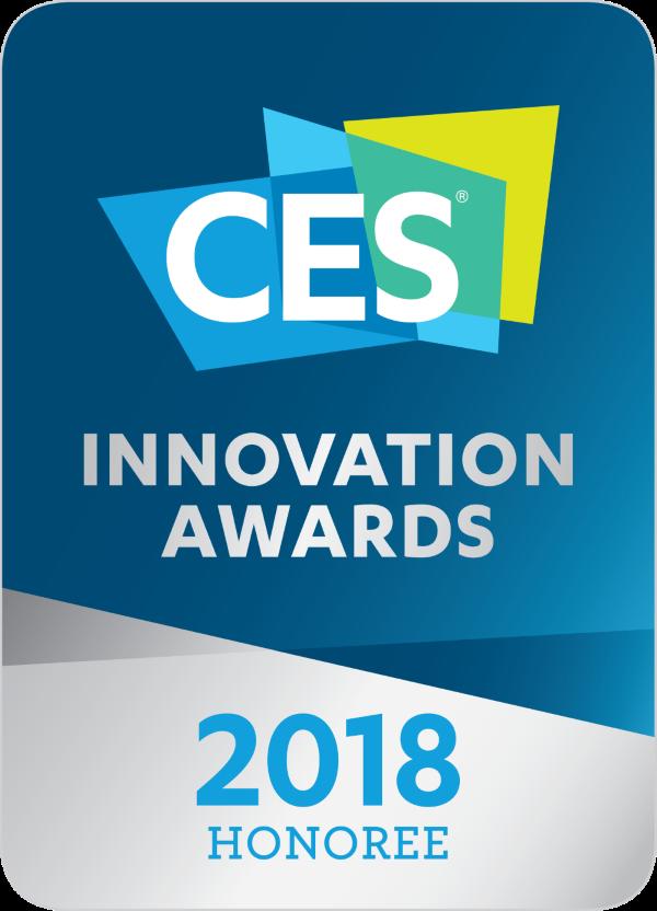 MSI présente ses produits récompensés par  un prix de l'innovation lors du CES 2018