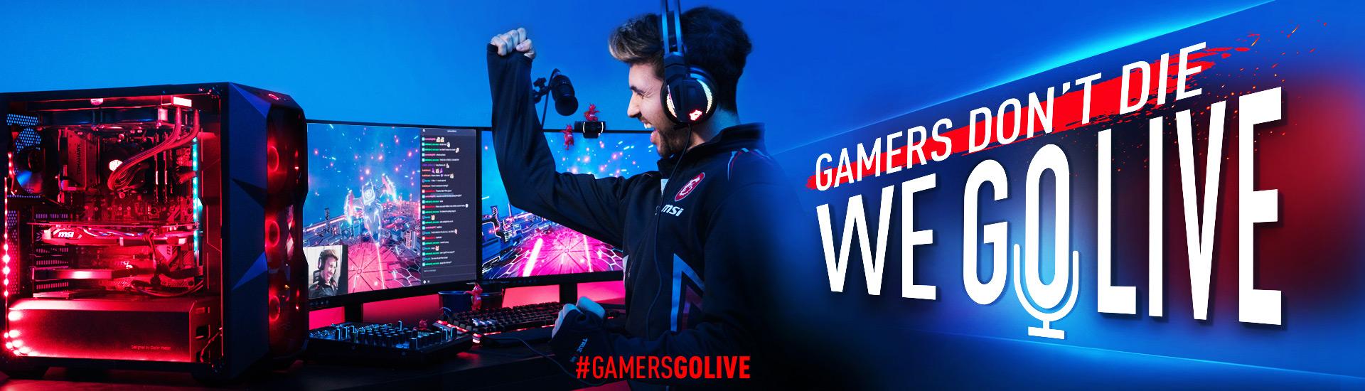 B450 GamersGoLive campaign