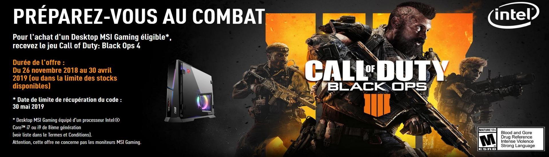 Intel Call of Duty