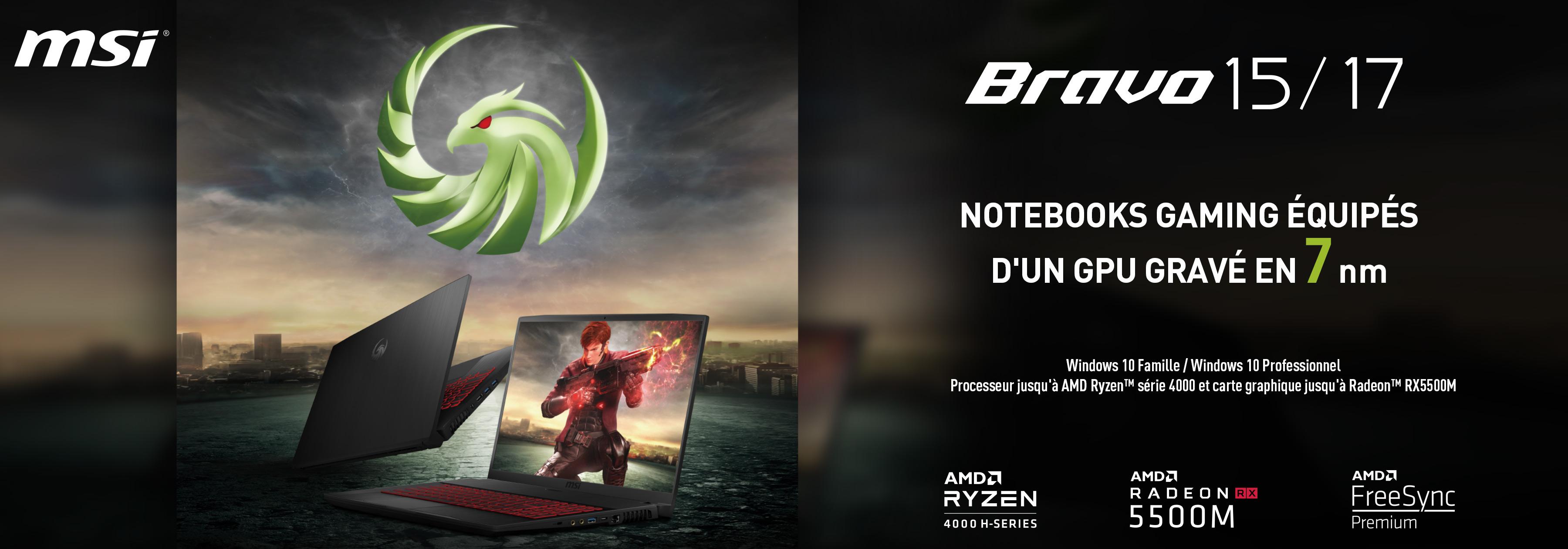 Notebooks série Bravo