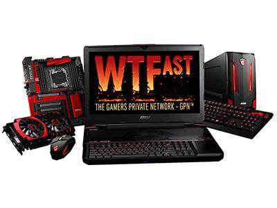 MSI s'associe au réseau pour joueurs privé WTFast pour offrir une expérience gaming incroyablement fluide