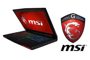 L'évolution de l'ultime portable de jeu GTX<br>MSI GT72 Dominator/Pro portable de jeu, nouveau desig