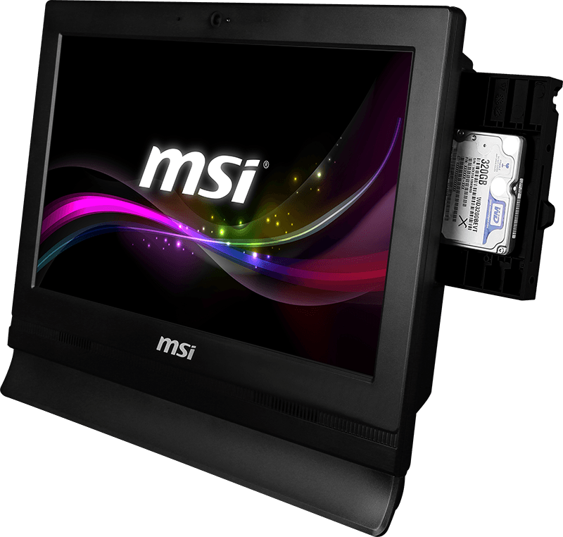 MSI PRO 16T size