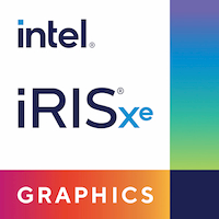 intel iris logo